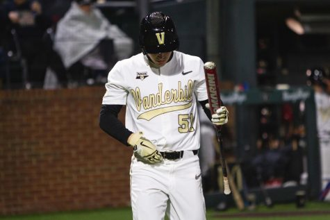 Vanderbilt loses late lead and drops series finale to Arkansas 14-12