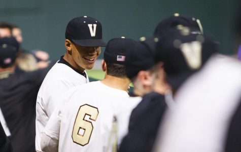 Vanderbilt defeats Florida 15-2 on March 22, 2019, at Hawkins Field. Photo by Hunter Long