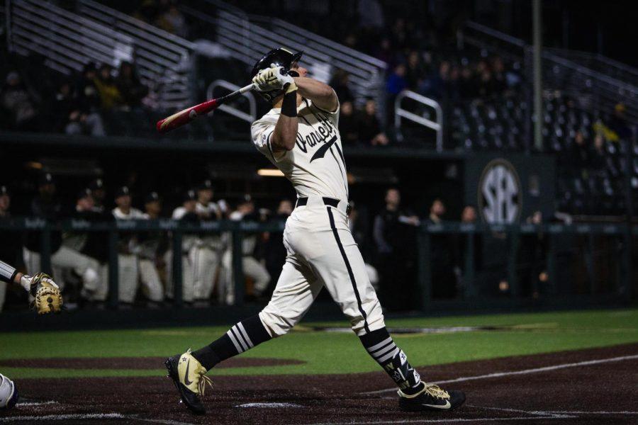 Former pitcher JJ Bleday is now Vanderbilt's home run king