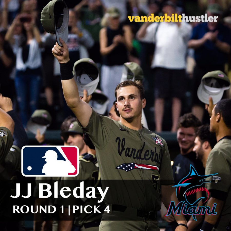 BREAKING%3A+Vanderbilt+outfielder+JJ+Bleday+drafted+4th+overall+by+the+Miami+Marlins