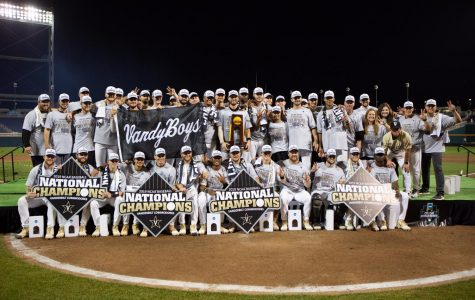 National Champions: Vanderbilt Commodores capture program's second College World Series Title