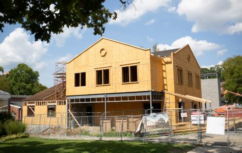 Kappa Sigma is slated for completion in late winter. (Photo by Hunter Long)