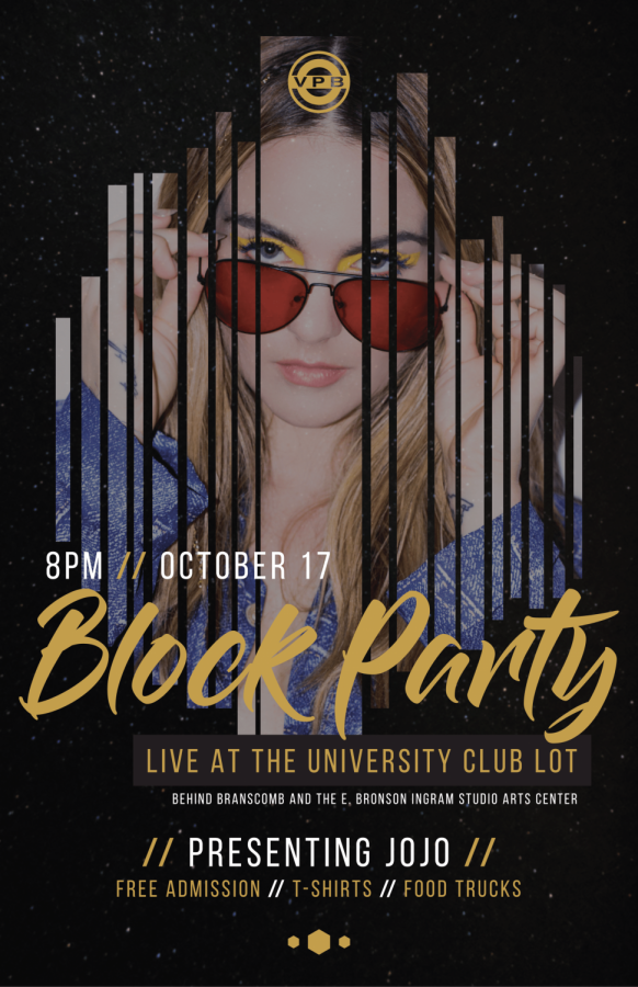 JoJo to be featured at VPB Homecoming Block Party