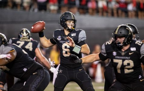 Commodores face uncertainty at the helm as they travel to play Purdue