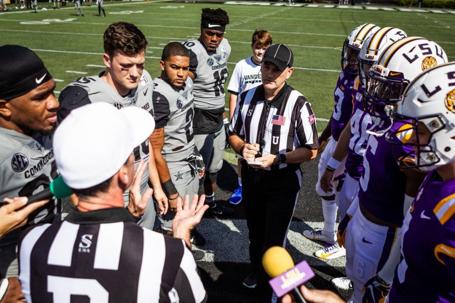 LSU defeats Vanderbilt 66-38 during parents' weekend on Saturday, September 21, 2019.