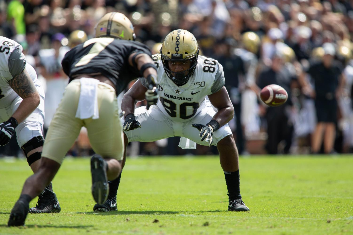Purdue beats Vandy 42-24 in Indiana on Saturday, Sept. 7. (Photo by Emily Gonçalves)