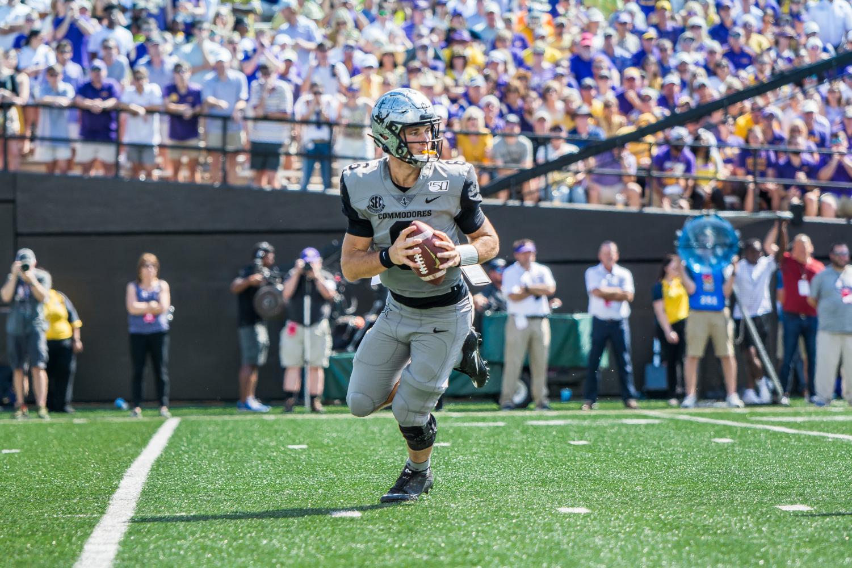 Vanderbilt falls to LSU 66-38 on September 21, 2019. Photo by Brent Szklaruk
