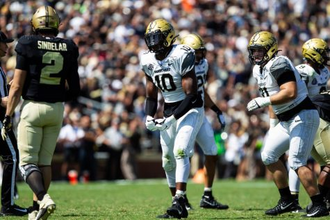 Purdue defeats Vandy 42-24 on Saturday, Sept. 7. (Photo by Hunter Long)
