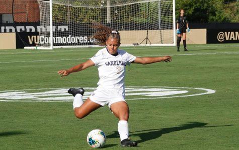 Vanderbilt's Woman's Soccer team defeated UT on Sunday, Sept.22. Vanderbilt wins 1-0.
