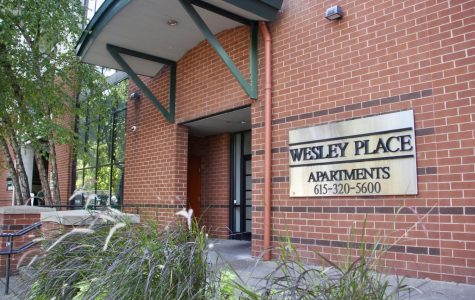 Wesley Place apartments will no longer included in on-campus offerings for next year. (Photo by Emma Stapleton)
