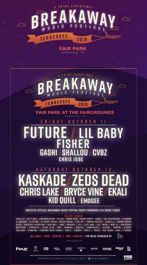 Photo courtesy Breakaway Music Festival