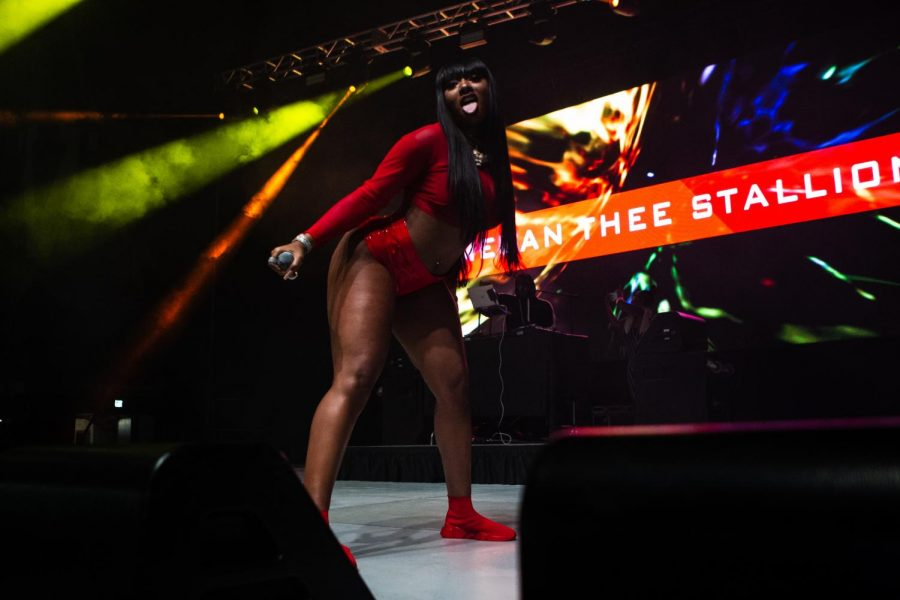 Megan Thee Stallion headlines Commodore Quake on Friday, October 18, 2019. (Photo by Hunter Long)