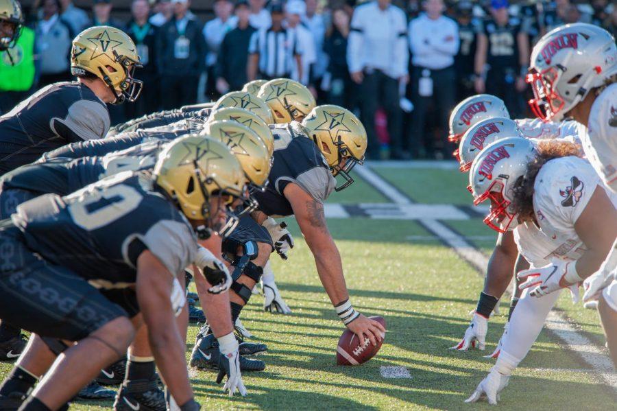 UNLV defeats Vanderbilt 34-10 on Saturday, October 11, 2019. (Hustler Multimedia/Truman McDaniel)
