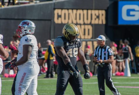 UNLV defeats Vanderbilt 34-10 on Saturday, October 11, 2019. (Photo by Truman McDaniel)