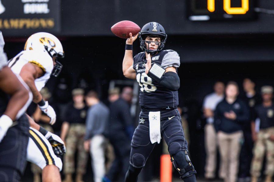 Vanderbilt+Quarterback+Mo+Hasan+enters+transfer+portal
