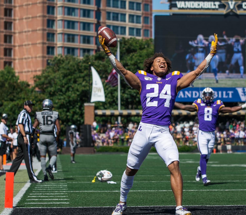 Vanderbilt falls to LSU 66-38 on September 21, 2019.