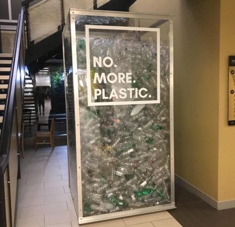 The No More Plastic campaign is an important first step in reducing the amount of plastic students use at Vanderbilt. (Photo by Philip Gubbins)