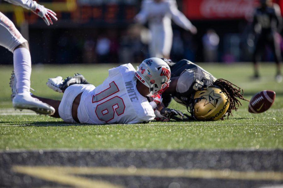 Vanderbilt drops non-conference matchup to UNLV 34-10