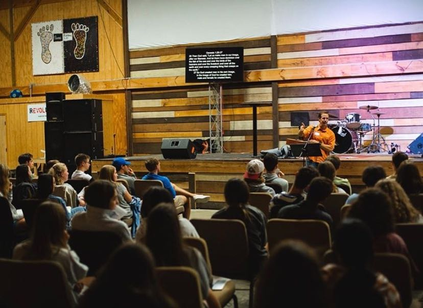 Attending campus worship sessions are one of the many ways religious students can find a community on campus. (Photo by Joshua Putrasahan)