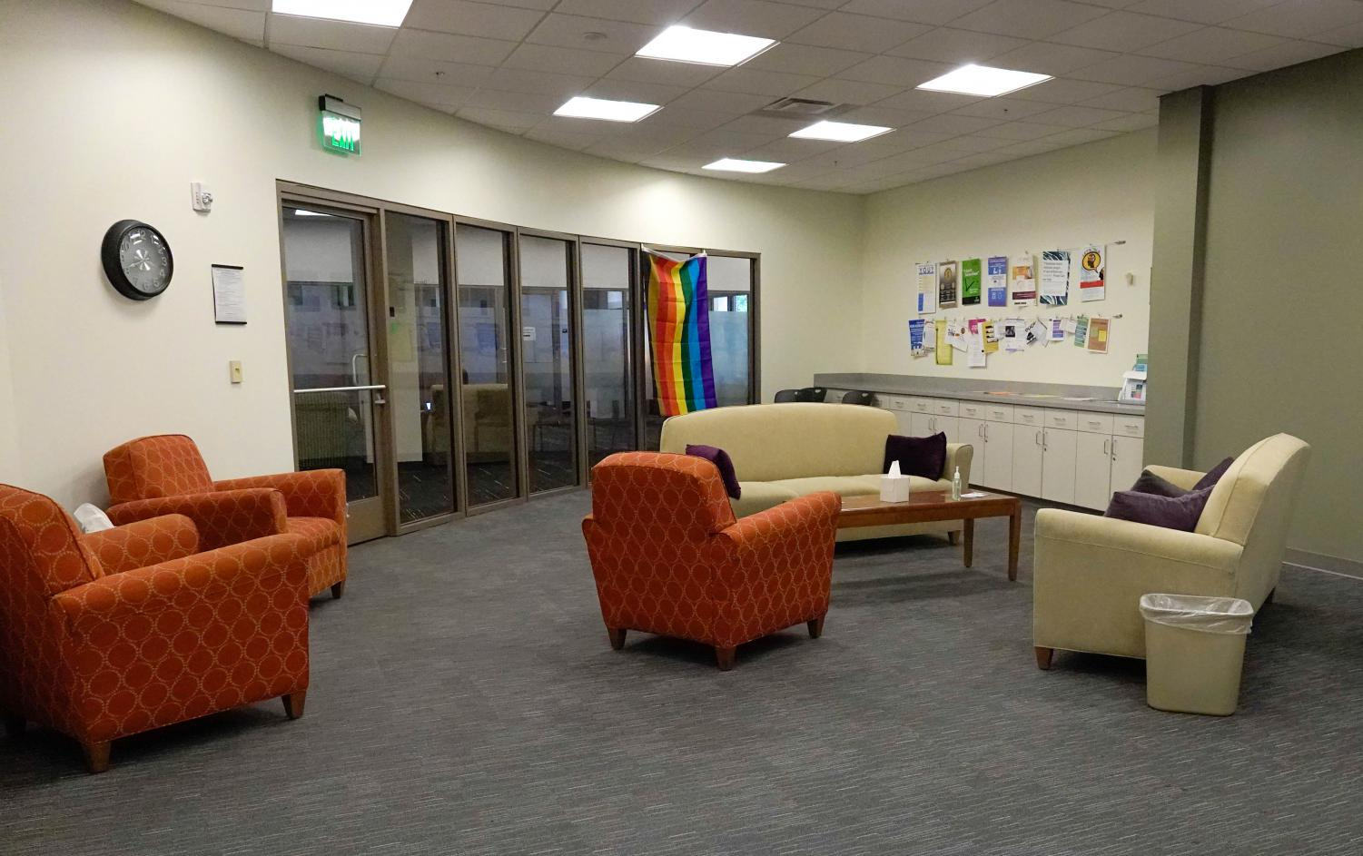 The OSCC's new, larger space in Rand Suite 305. (Photo by Mattigan Kelly)