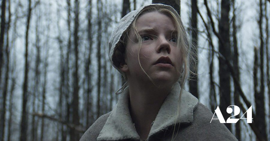 Thomasin+looks+into+the+woods+in+fear.+%0AImage+courtesy+of+a24films.com
