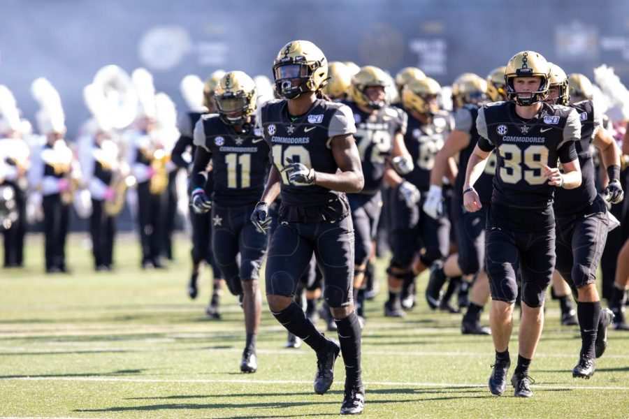 Vanderbilt hosts UNLV on October 12, 2019.