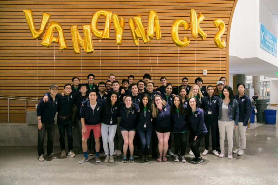 A group photo from VandyHacks in 2018. (Photo courtesy Janet Fang)