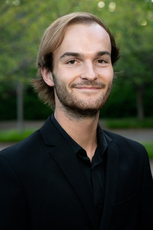 Sophomore Dillon Davey, music enthusiast and member of Vanderbilts Melodores (Photo courtesy The Melodores).