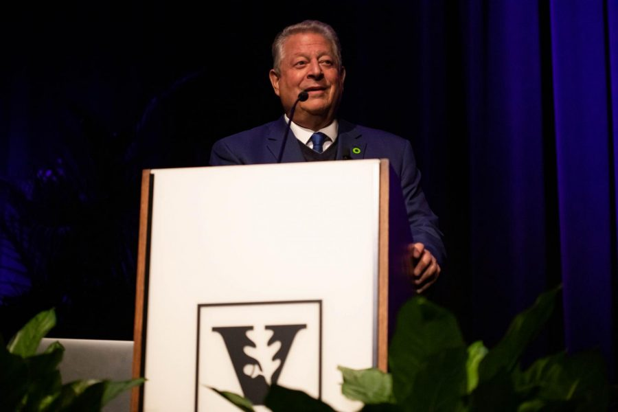 Gore's non-profit The Climate Reality Project led the campaign '24 Hours of Reality.'