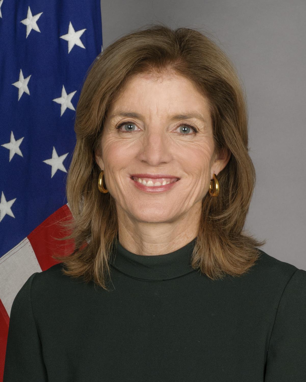 Caroline Kennedy (Photo courtesy 2009-2017.state.gov)