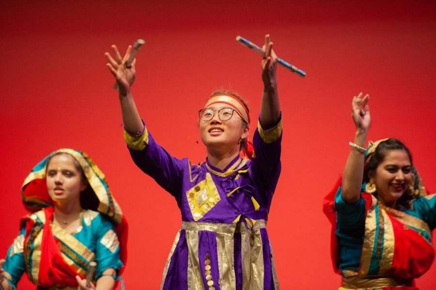 Students perform in SACE's annual Diwali Showcase on Saturday, November 9, 2019.