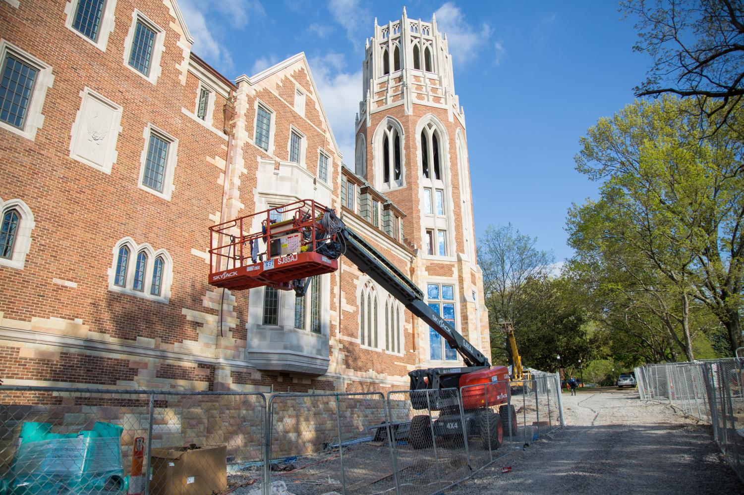 E. Bronson Ingram, Vanderbilt's most recently completed residential college, which opened its doors to students in Fall 2018. Nicholas S. Zeppos College, set to open in Fall 2020, will feature a design similar to E. Bronson Ingram College. (Photo courtesy Claire Barnett)