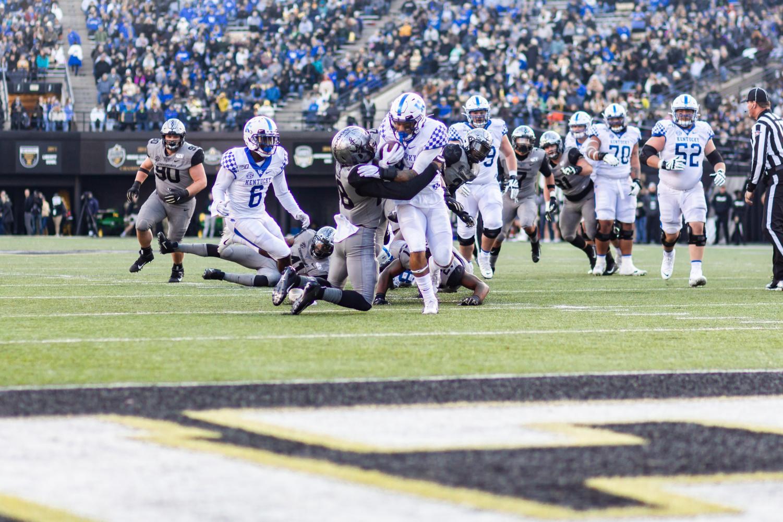 Vanderbilt football faces Kentucky on November 16, 2019.