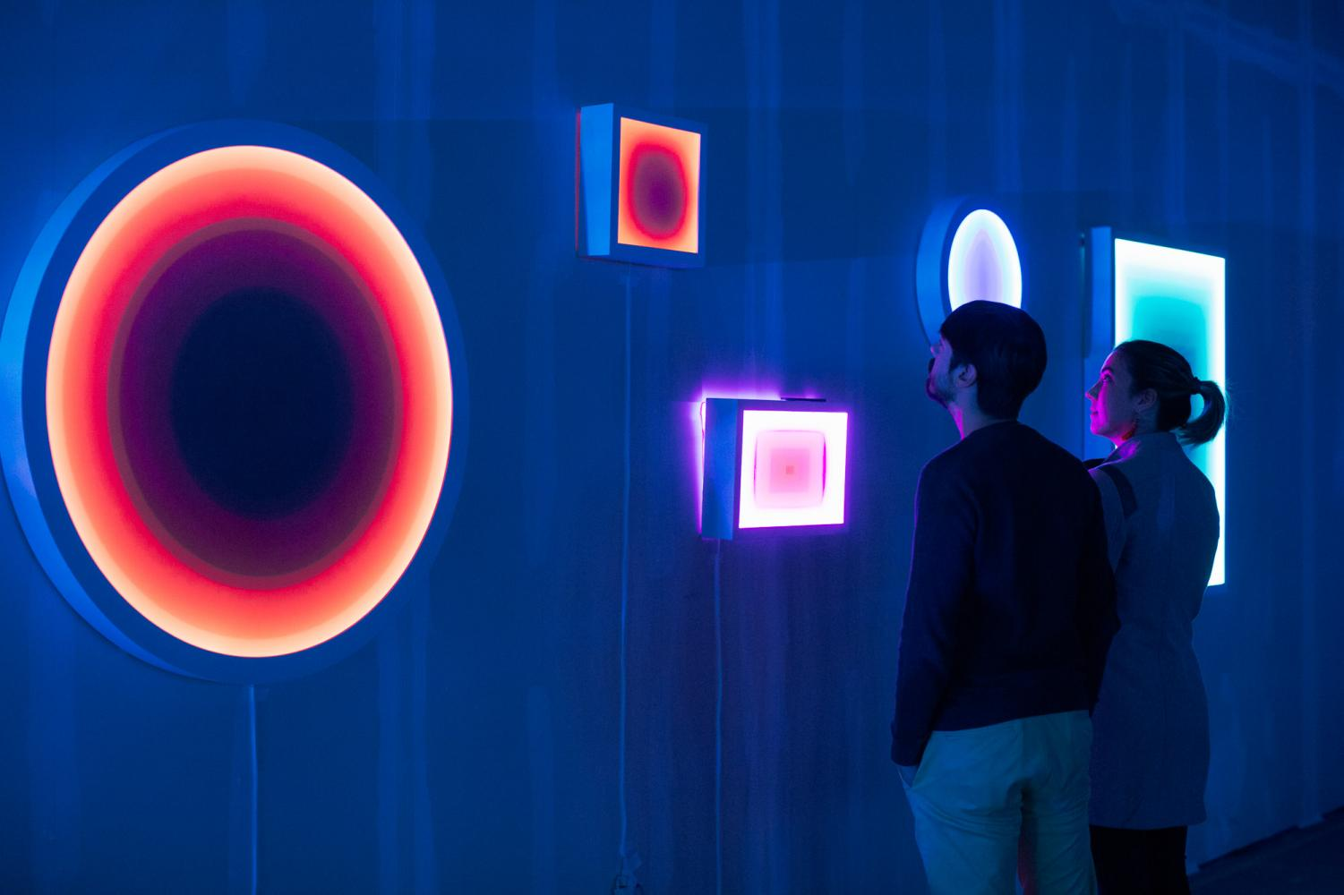 One of the works featured at last year's MOCAN x Pantone UX exhibition (Photo by Daniel Meigs).