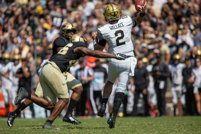 Vanderbilt faces Purdue on September 7, 2019.