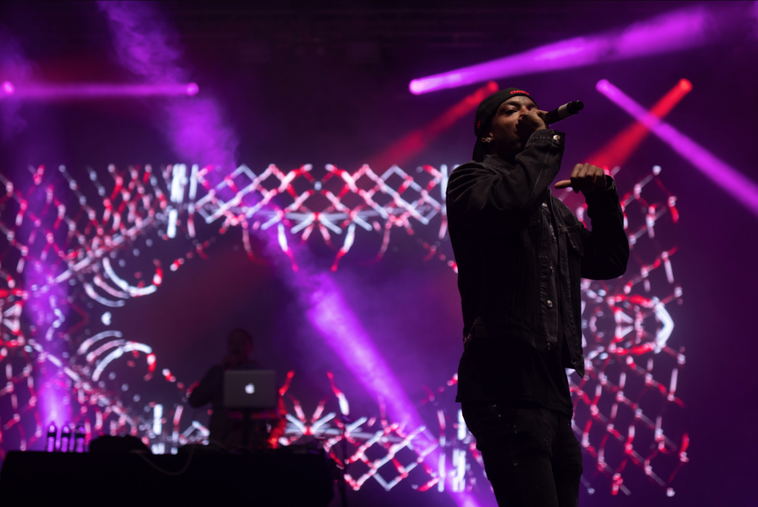 21 Savage performs at Rites of Spring in 2019. (Photo by Brandon Jacome-Mendez)