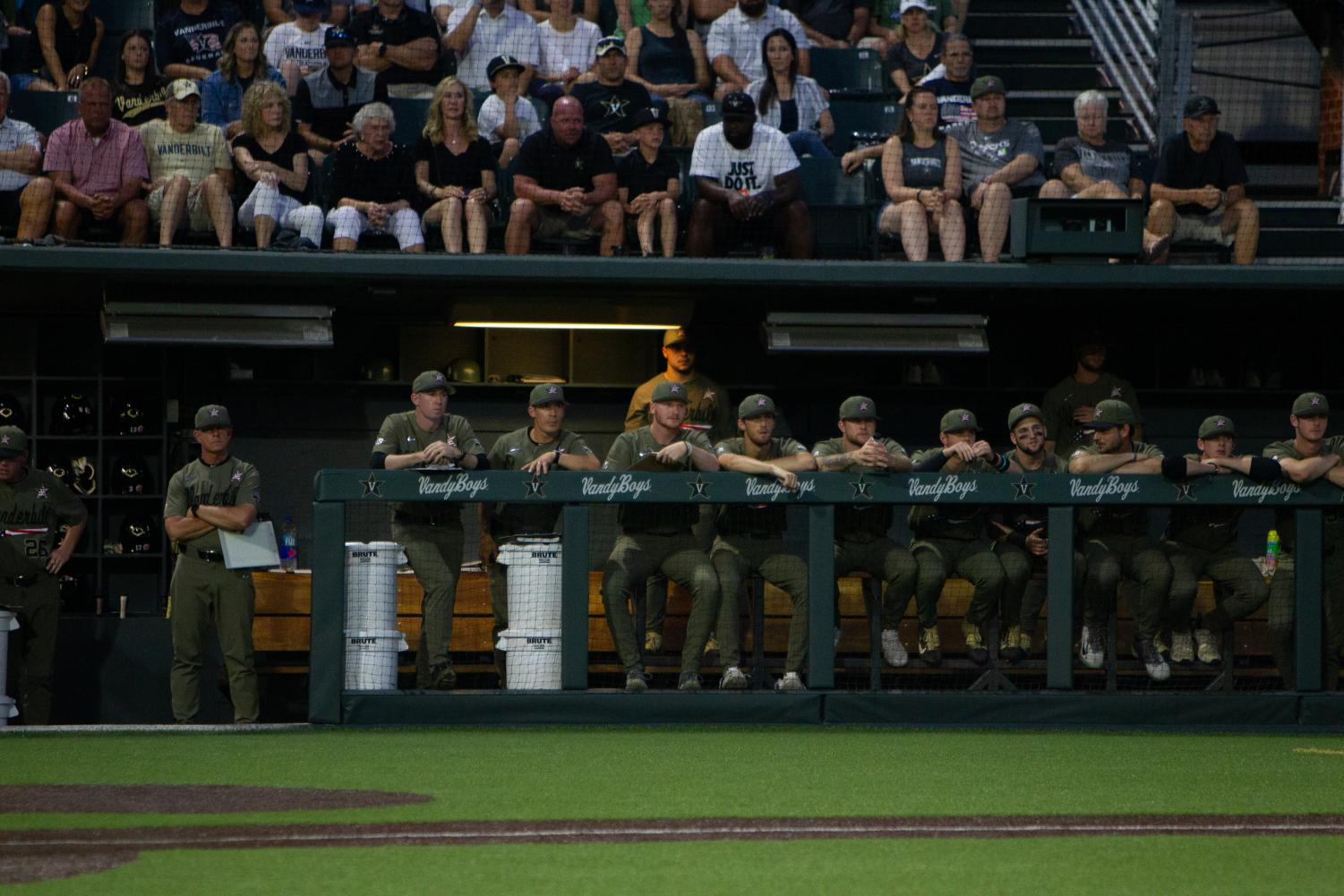 Seven months removed from a National Championship at the College World Series, the Commodores prepare for their title defense.