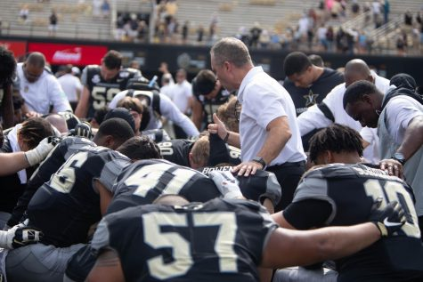 Vanderbilt prepares for a home matchup with Northern Illinois in 2019.