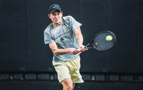 Vanderbilt Men's Tennis shows resilience in 4-1 victory over Middle Tennessee State
