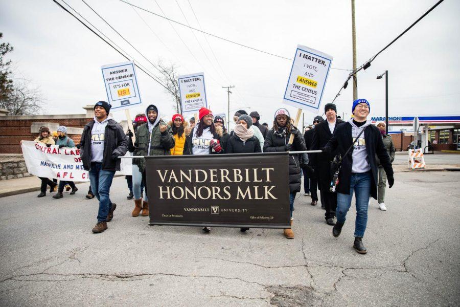 Vanderbilt+marches+down+Jefferson+Street+to+commemorate+MLK%27s+legacy