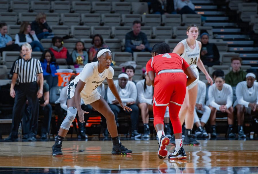 Jordyn Cambridge had four steals in the Commodores 80-46 victory over Radford.