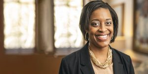 Candice Lee became the first African American woman to lead an SEC program. (Vanderbilt University/Daniel Dubois)