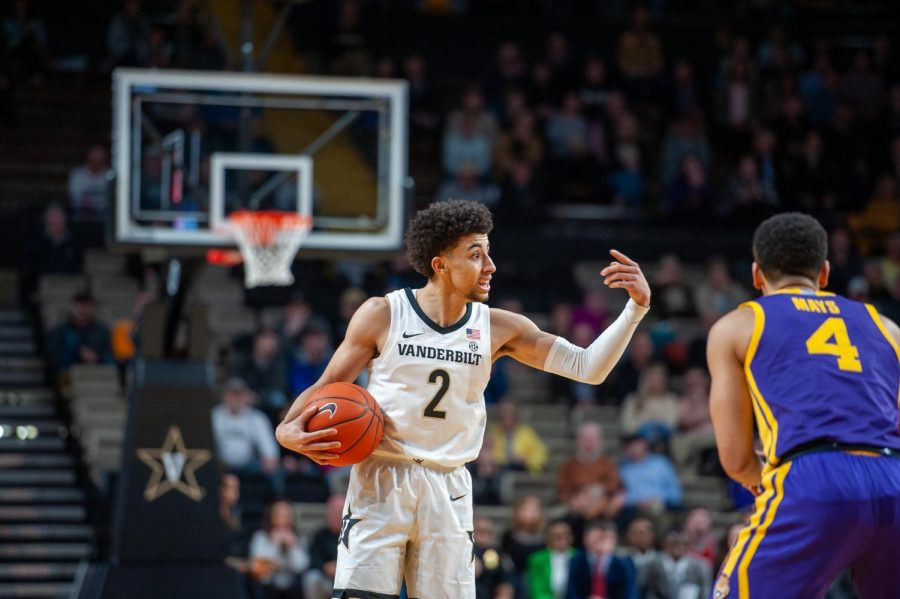 Scotty Pippen Jr. had 12 points against Kentucky in the two teams' meeting on Jan. 29.