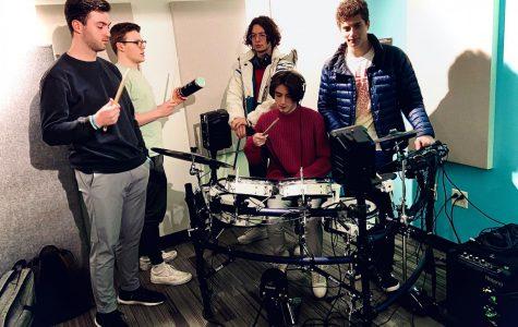 Members of funk-pop band
