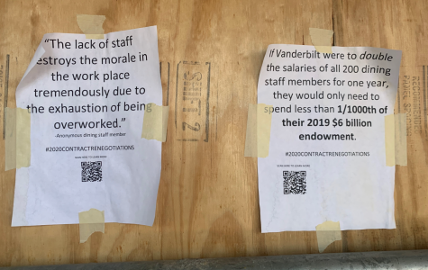 Hidden 'Dores launches campaign for Campus Dining workers' rights