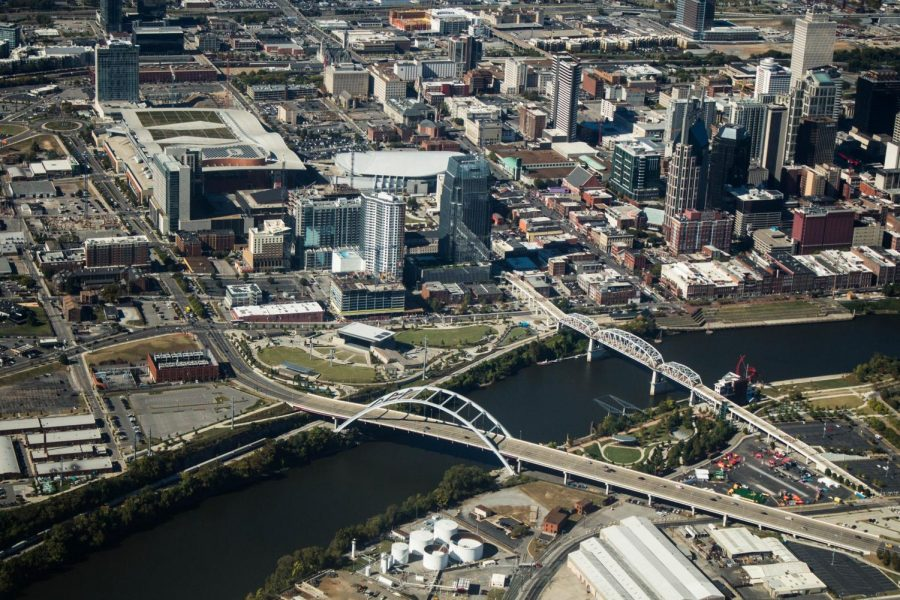Nashville+from+above.