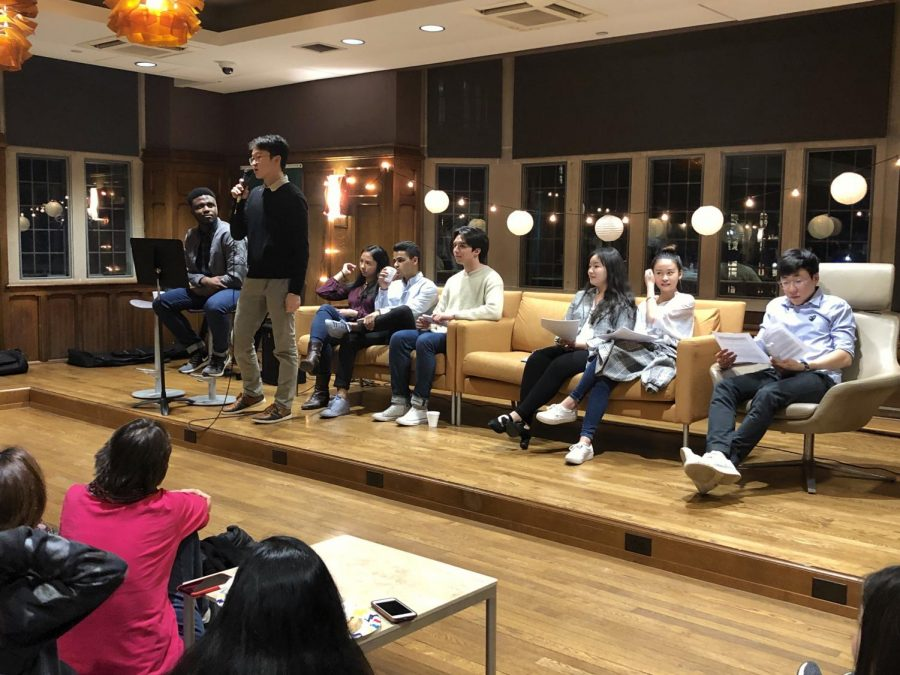 International students share stories from their Vanderbilt experiences at the Lanterns Showcase, held annually in February.