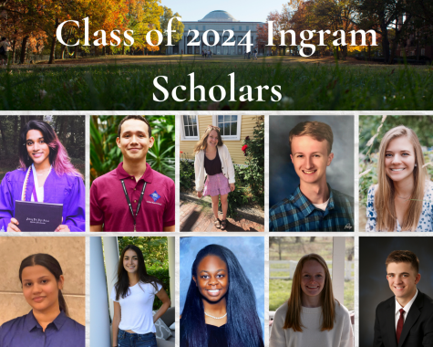 Class of 2024 Ingram Scholars reflect on quarantine, service and Fall 2020 plans
