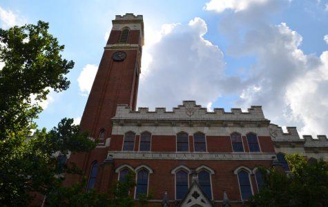Kirkland Hall houses many of the Vanderbilt administrators. (Hustler Multimedia/Alexandra Venero)