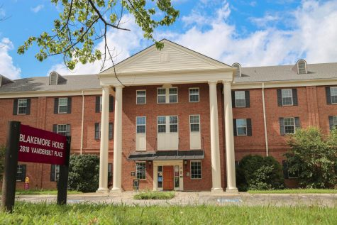 Blakemore House serves as an isolation spot for students on-campus.